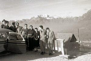 Dicembre 1955 - Gita a Tambre nelle Dolomiti